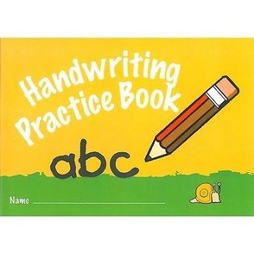 6 x HANDWRITING EXERCISE PRACTICE BOOKS LEARN TO WRITE  32 Page IVY Branded